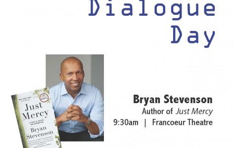 Stevenson Inspires in Common Dialogue Day Speech