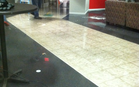 SHU Maintenance cleans up the Campus Village lobby after a major pipe bursts. (Photo Dayna Crumback)                             UPLOADING  1 / 1 – photo (1).JPG ATTACHMENT DETAILS  photo (1).JPG TitleCaptionAlt TextDescription ATTACHMENT DISPLAY SETTINGS  Alignment Link To  1 selected Clear  Insert into post