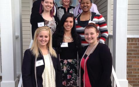 McNair Scholars group with Trudy Mohre (center back).