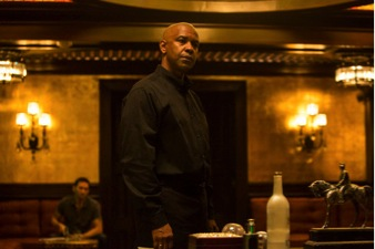 "Looking for a story? You're not going to find a strong one in the Denzel headliner ""The EQUALIZER"", a dark and crisp action film, with a lot of brawn, but hardly any bite."