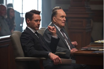 """Where is Iron Man where you need him? No need! Duvall and Downy Jr. are their own superheroes in """"The Judge, a sensational masterpiece that easily moves atop my list as one of the best this year has to offer."""