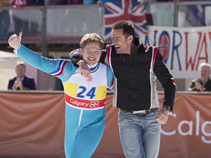 Eddie The Eagle is rated PG13 for some suggestive material, partial nudity, and smoking. Was released February 26th 2016, is directed by Dexter Fletcher and distributed by 20th Century Fox.