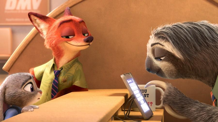 Zootopia is Rated PG for some thematic elements, rude humor, and action. Released by Disney animations studio on March 4th 2016 and directed by Byron Howard and Rich Moore.