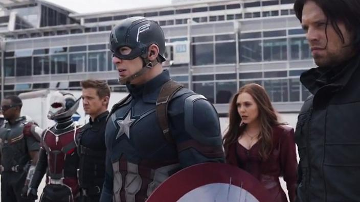 Directed By Joe and Anthony Russo - PG13 - 146 Mins - Marvel Studios - Release Date: May 6th 2016.