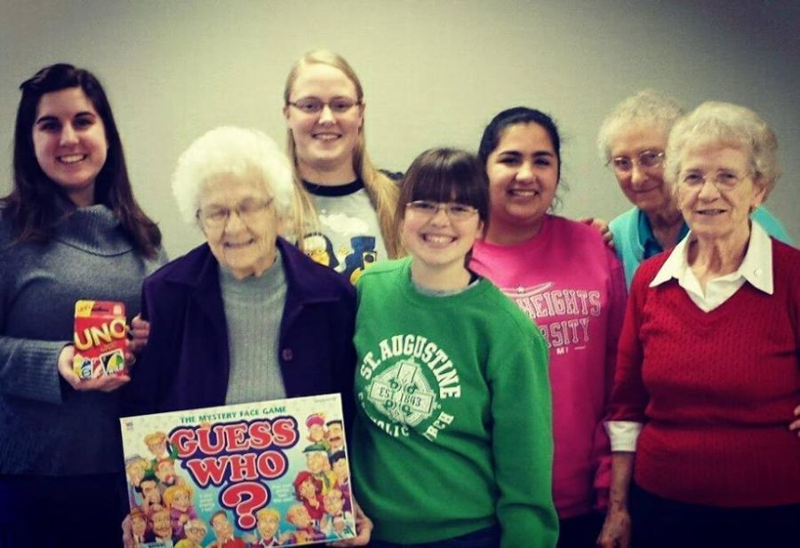 'College Grandmas': Adopt-A-Sister Continues on Campus