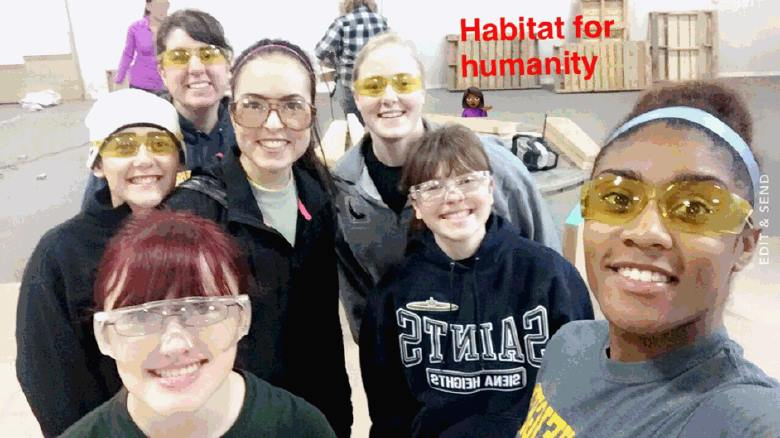 A Day of Service: How 10 Students Celebrated MLK Jr. Day