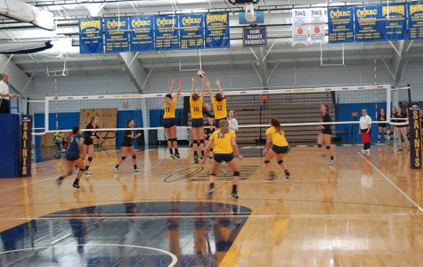 Women's Volleyball Match: Sept. 19
