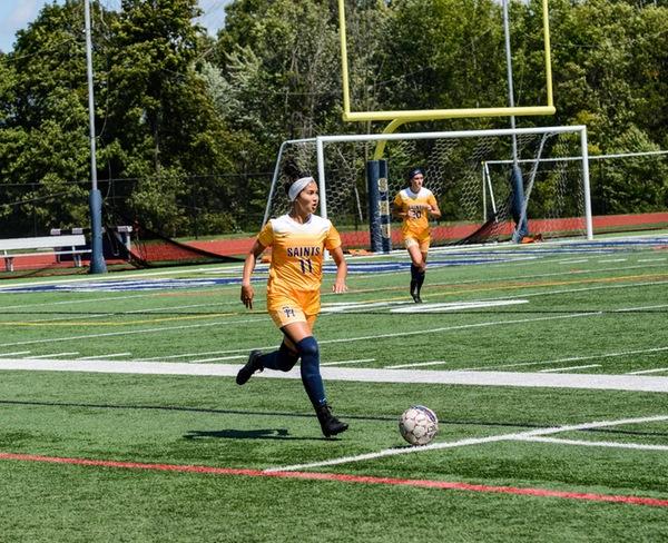 Women's Soccer: Saints on a Mission