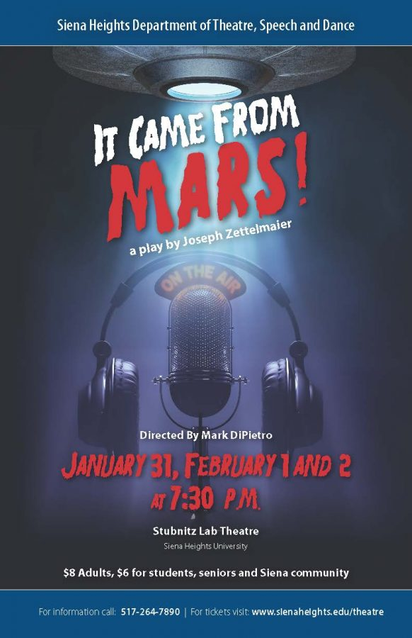 'It Came From Mars' Opens This Weekend