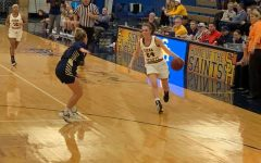 Saints Women Conquer Cornerstone, 71-56