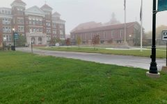 Siena Snapshot: A Foggy Campus Morning